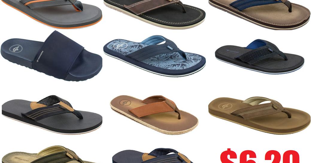 Dockers Men S Flip Flop Or Slide Sandals 6 29 Free
