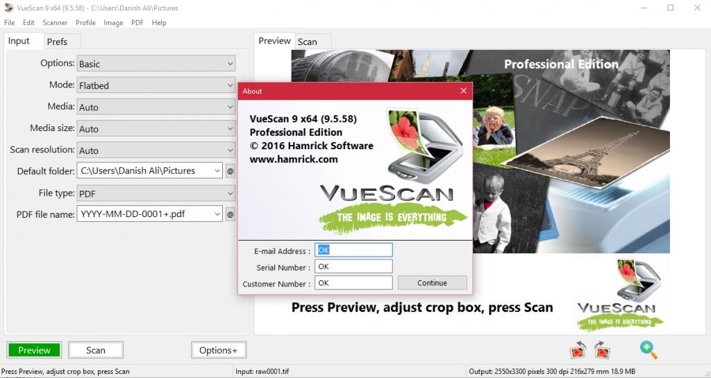 VueScan Pro 9.5.94