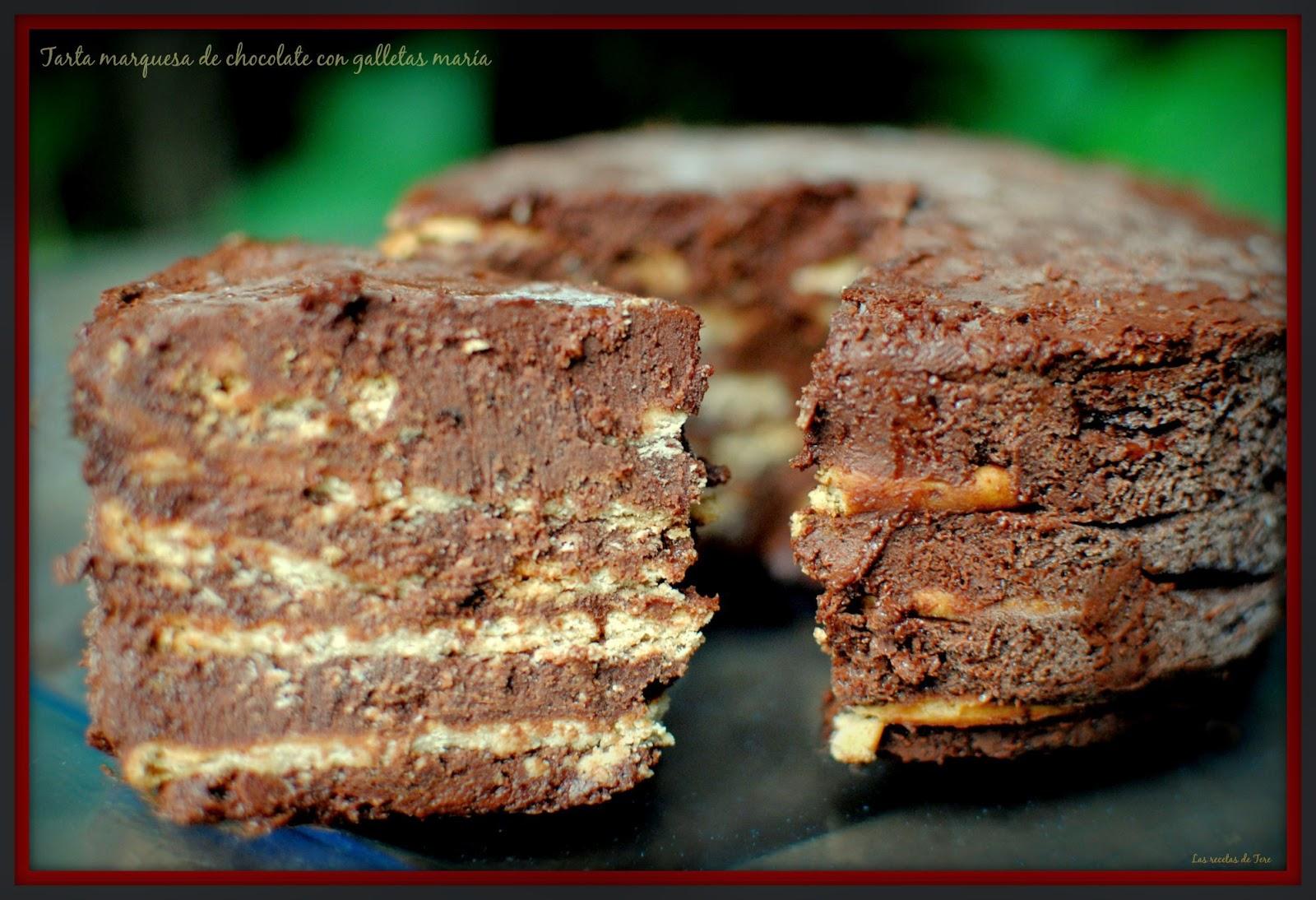 tarta marquesa de chocolate con galletas maría tererecetas 01