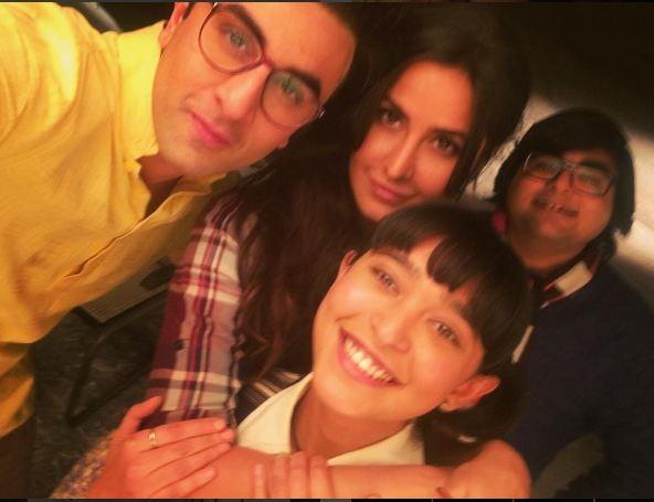 Sayani Gupta Bonds with Ranbir and Katrina on The Sets of Jagga Jasoos