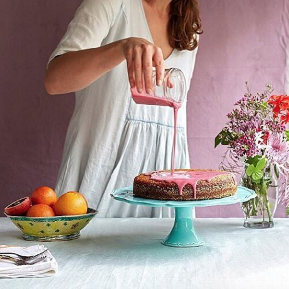 Blood Orange Almond Cake recipe from @leelacyd {Cool Chic Style Fashion}