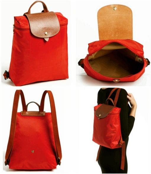 7ca88ff936d LONGCHAMP Le pliage Zippered Backpack