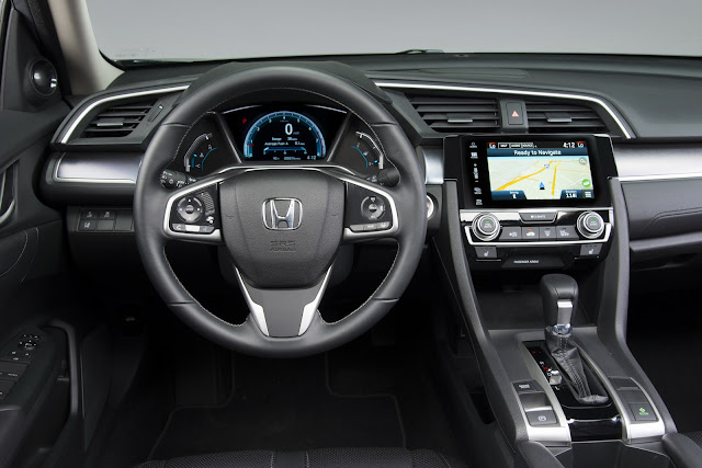 All New Civic Turbo 2016 Interior