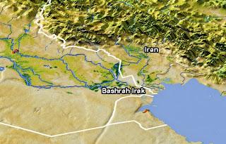 Najd Irak Tanduk Setan Timur Madinah