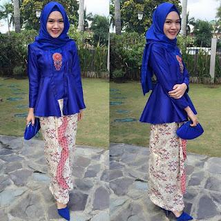kebaya kutu baru hijab modern untuk wanita muda