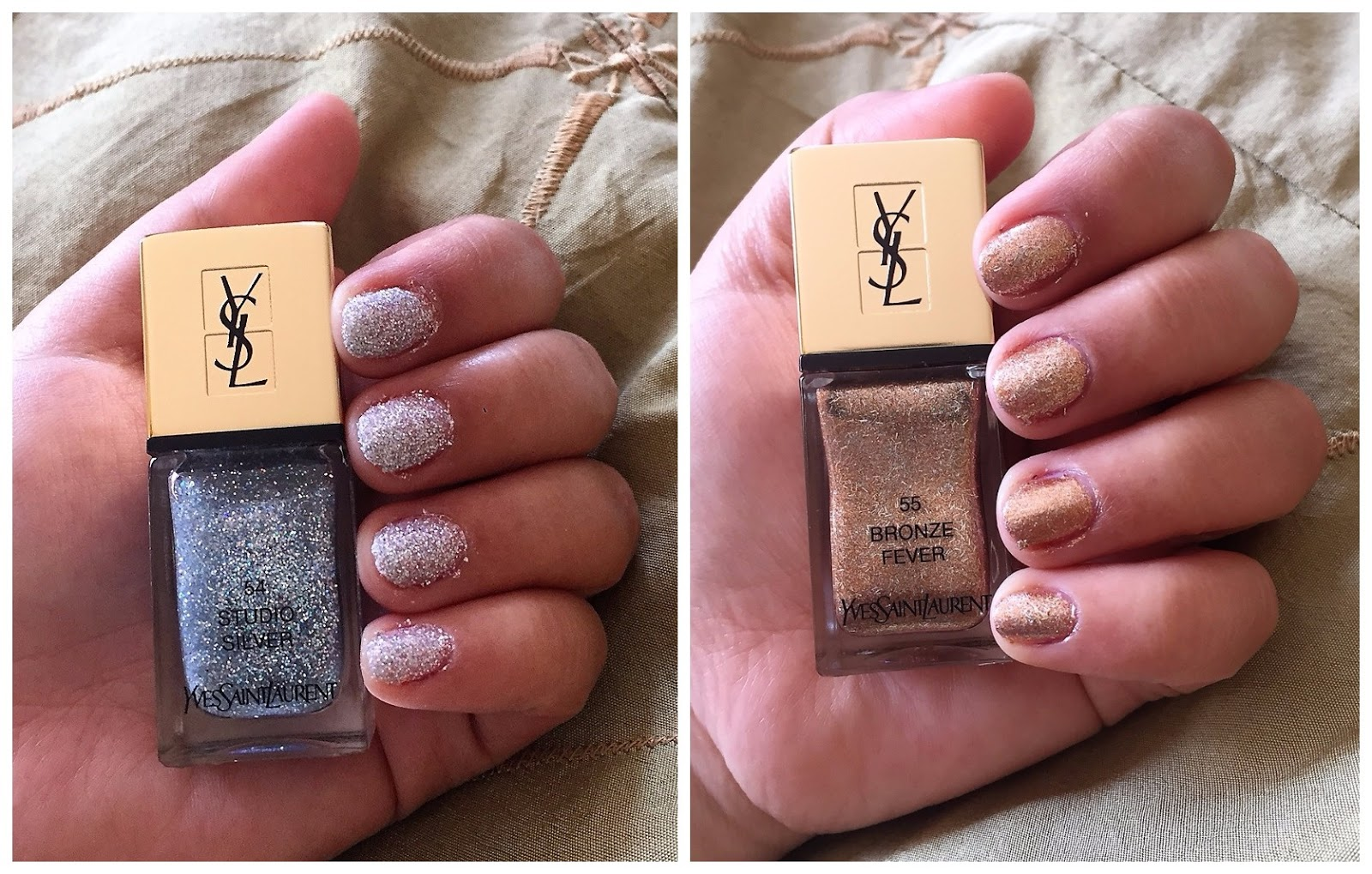 Super Glam Glam: Yves Saint Laurent Night 54 Fall 2017 Nail Lacquer ...
