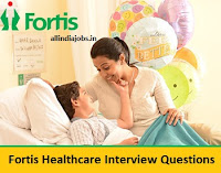 Fortis Healthcare Interview Questions