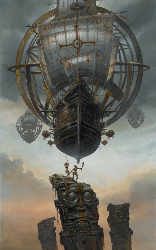 13-El-Dorado-Didier-Graffet-Visions-of-the-future-in-Steampunk-Digital-and-Traditional-Art-www-designstack-co