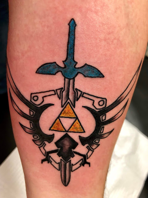 Simple Legend Of Zelda Tattoos Tattos Ideas