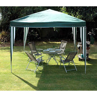 BUY TODAY! only £39.99 Garden Gazebo, instant shade and shelter solution