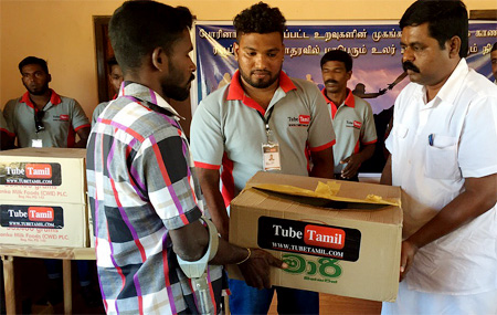 Tubetamil – Help the people affected by the WAR – Vanni