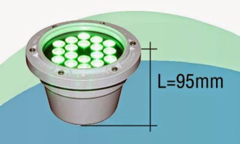 ĐÈN LED ÂM NƯỚC - ĐÈN LED CHIẾU SÁNG 18W