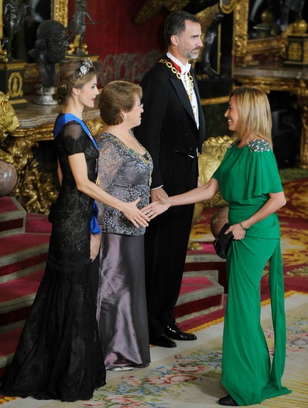 Gala Dinner at the Royal Palace in Madrid