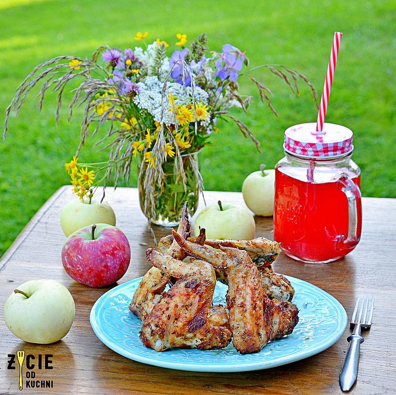 szkrzydelka, dania z grilla, jak zrobic skrzydelka na grillu, miodowo pikantne skrzydelka, marynata do skrzydelek, zycie od kuchni,