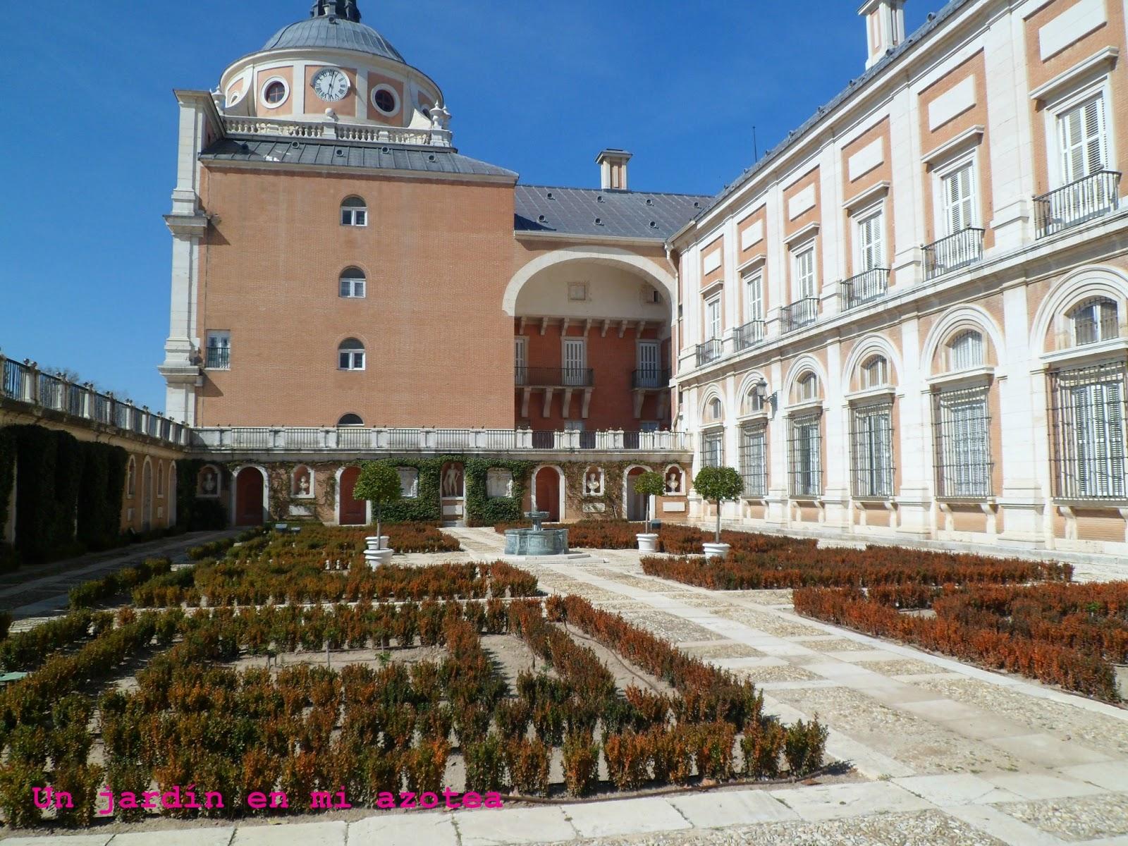 Un jard n en mi azotea el jard n del rey de aranjuez for Jardines de aranjuez horario