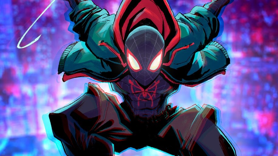 Miles Morales, Spider-Man, 4K, #6.2136