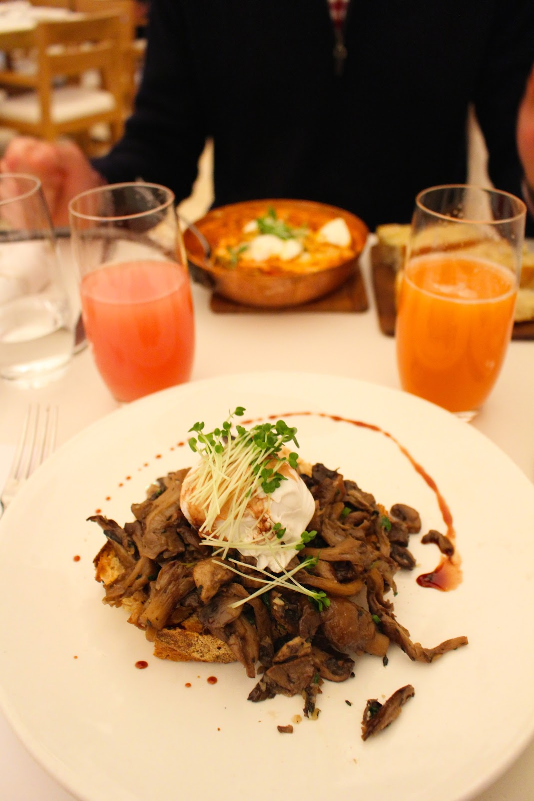 Breakfast at Nopi by Ottolenghi | London