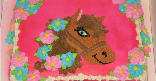 Gambar Kue Ulang Tahun Tema Bentuk Kuda Kumpulan Gambar