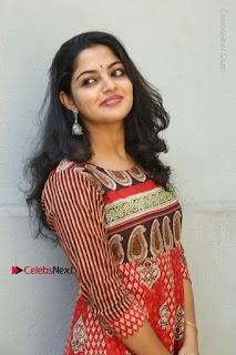 Telugu Actress Nikhila Vimal Latest Stills in Anarkali Dress  0088.JPG