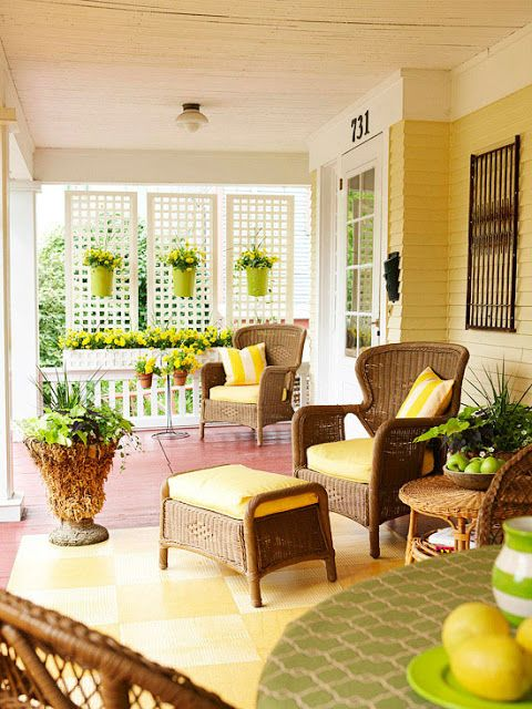 Blog de Ámbar Muebles: Ideas para decorar un porche