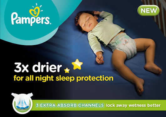 Aimless Moments: Keeping Your Baby Dry With Pampers Baby Dry