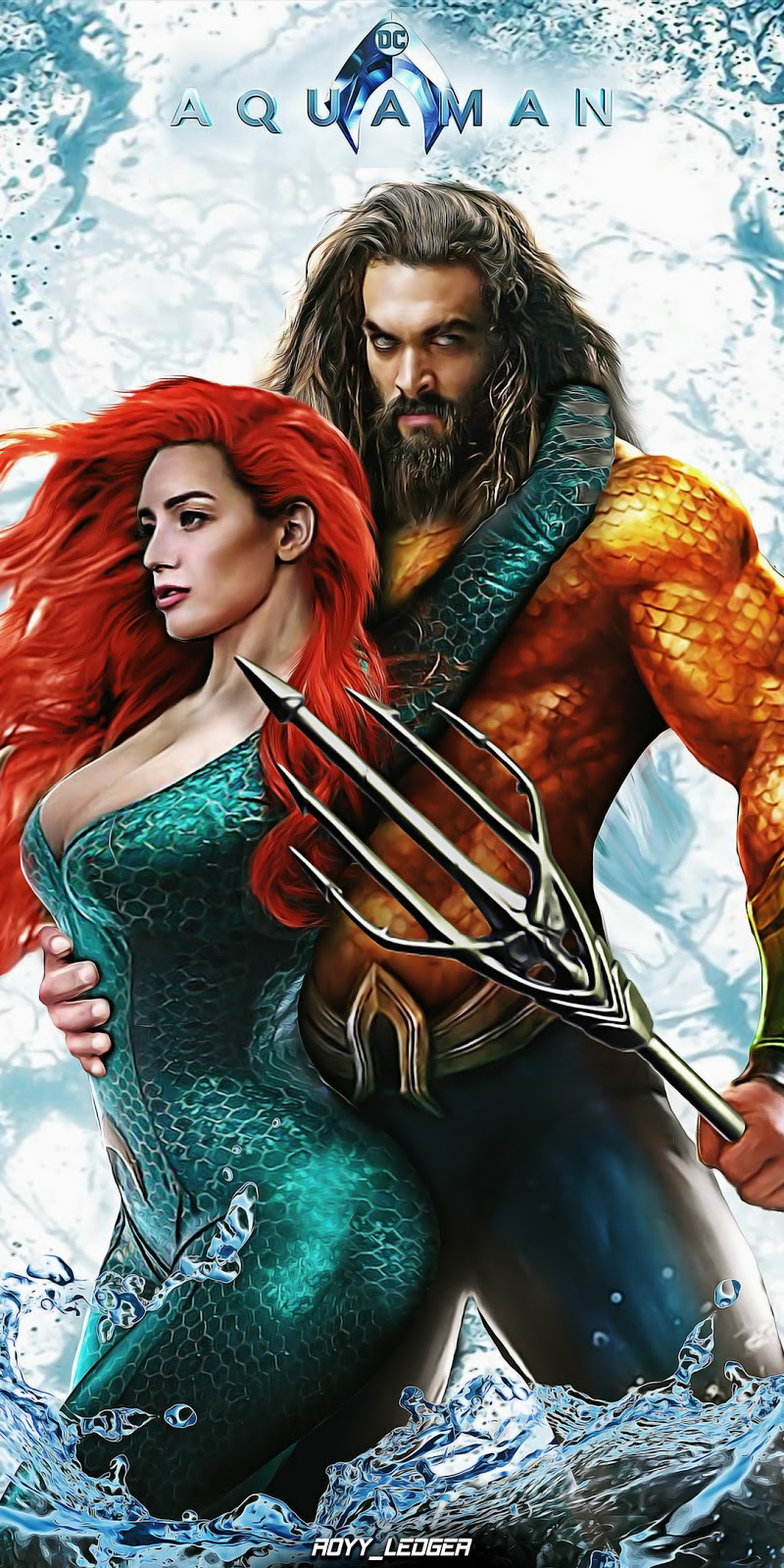 Aquaman (2018) HDRip 480p With Arabic Subs