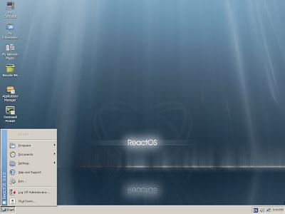 Lançado o GNU/Linux ReactOS 0.4.4