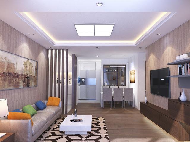 Thiết kế căn hộ Red River View ( ảnh minh họa)