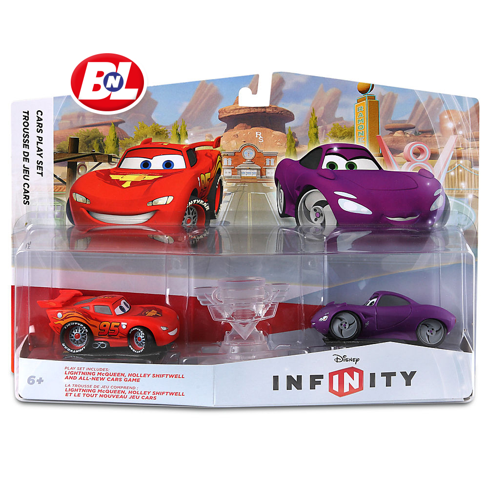 Welcome On Buy N Large Cars 2 Lightning Mcqueen Silver: WELCOME ON BUY N LARGE: Cars 2: Disney Infinity Cars Play