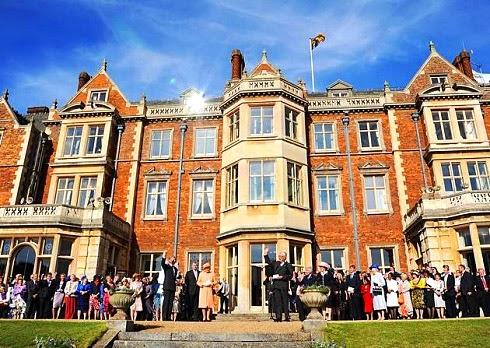 Evento em Sandringham house
