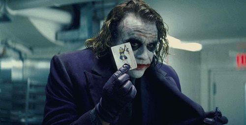 Heath Ledger sebagai The Joker