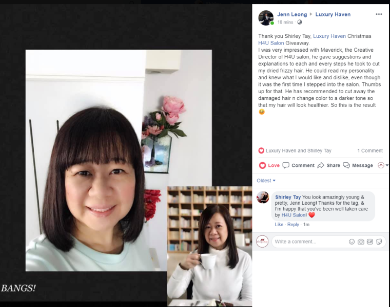 cny hair salon promotion h4u salon reviews