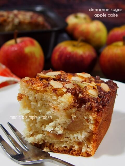 cinnamon sugar apple cake recipe