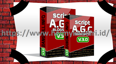 Download script AGC blogger bang will V3 gratis