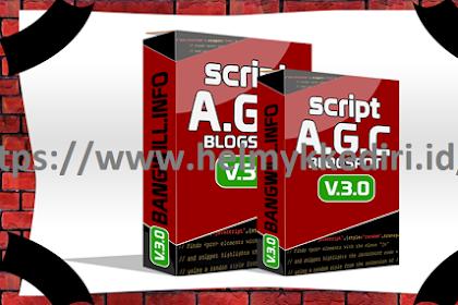Download script AGC blogger bang will V3 gratis