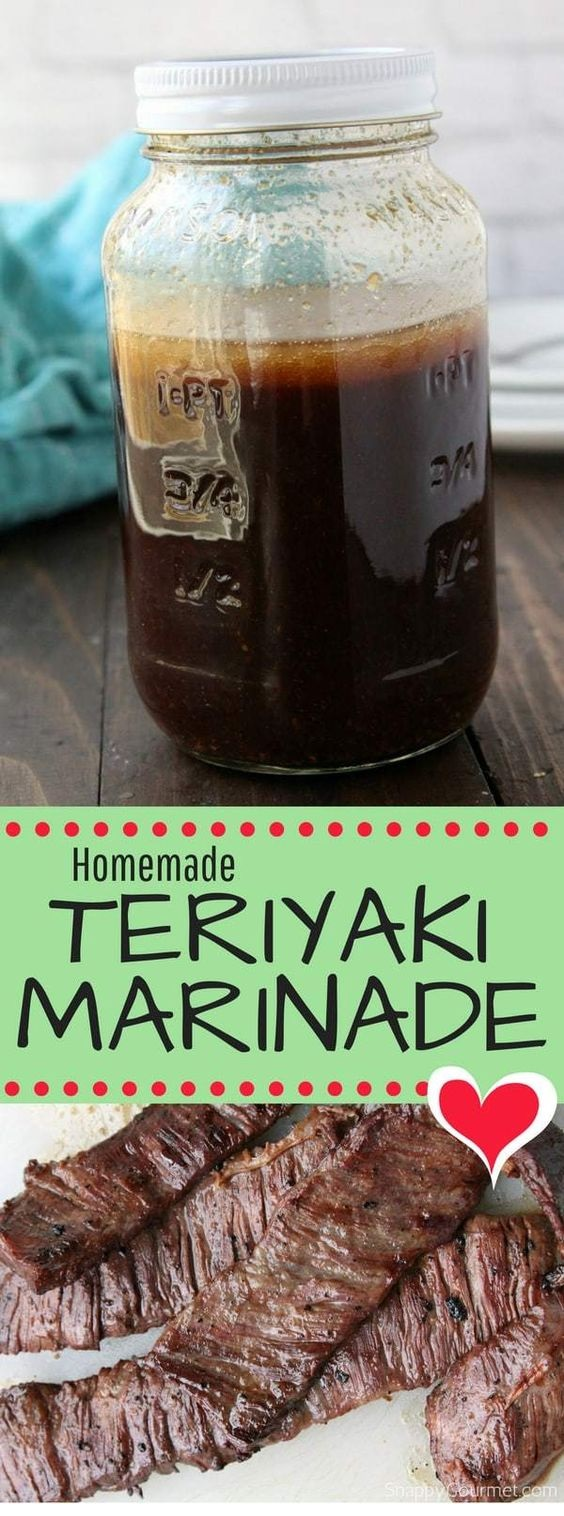 Homemade Teriyaki Marinade recipe