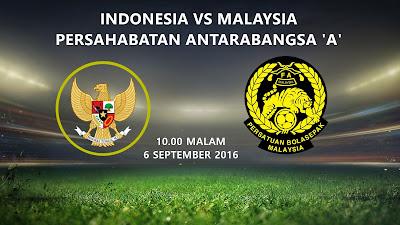 Indonesia Vs Malaysia 6 Sept 2016