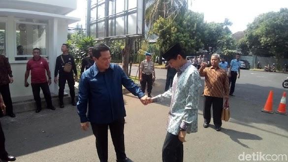 Sandiaga: Erick Thohir Nangis Saya Jadi Cawapres Prabowo