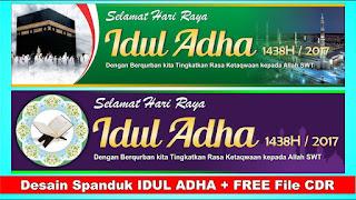 Banner Idul Adha CDR