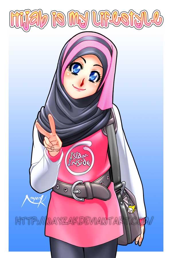 Anime Muslimah Cute Wallpaper Kartun Muslimah Part 3 Jiwarosak Com
