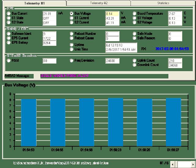 AlSat-1N Telemetry Decoder