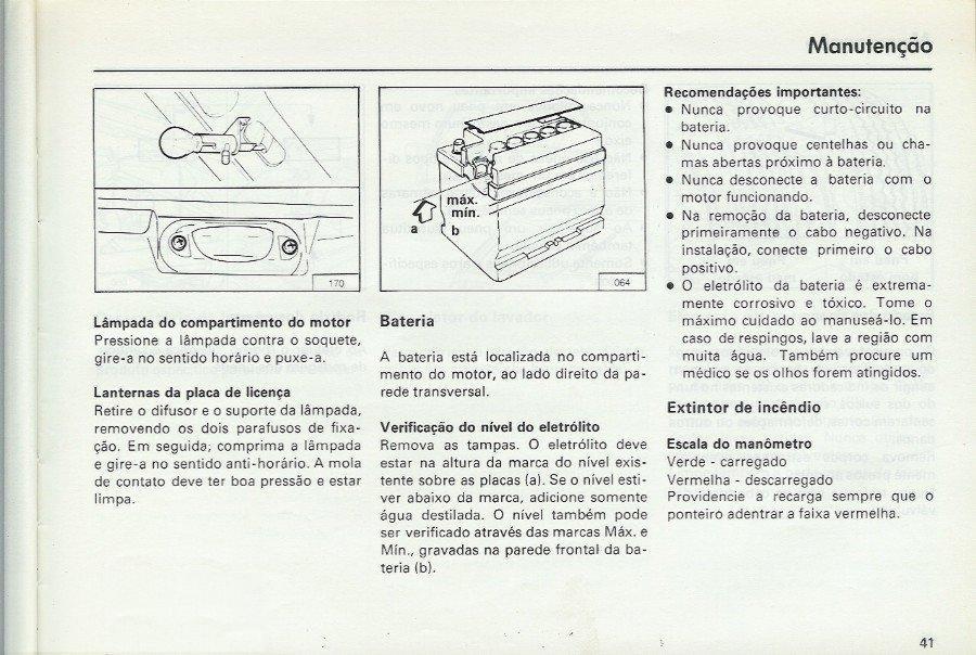 OFICINA VW : MANUAL DO SANTANA E QUANTUN 1988