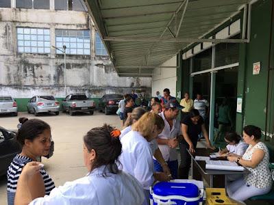 Juquiá tem maior cobertura vacinal do Vale do Ribeira, contra gripe Influenza