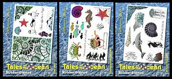 Tales of the Ocean Rubber Stamps