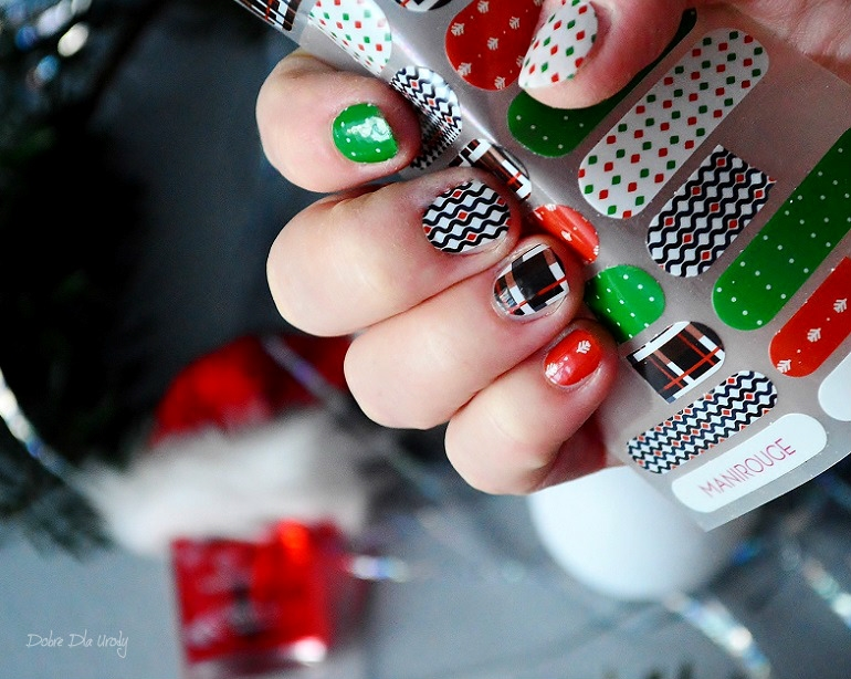 Manirouge Merry Christmas - świąteczna kolekcja ozdób termicznych