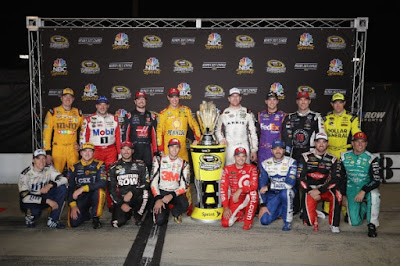 The field of 58 #NASCAR Sprint Cup drivers has been narrowed to 16.