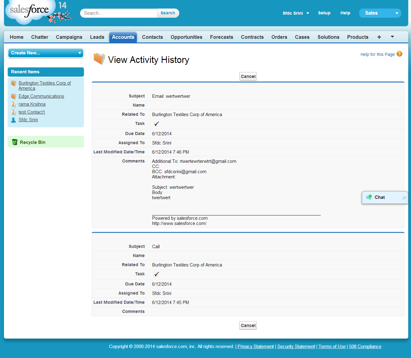 View All The Account Related Contacts In Single Vf Page Salesforce Tutorials