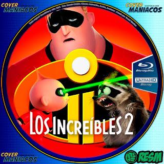 GALLETA BLU-RAYLOS INCREIBLES 2 - THE INCREDIBLES 2 -2018