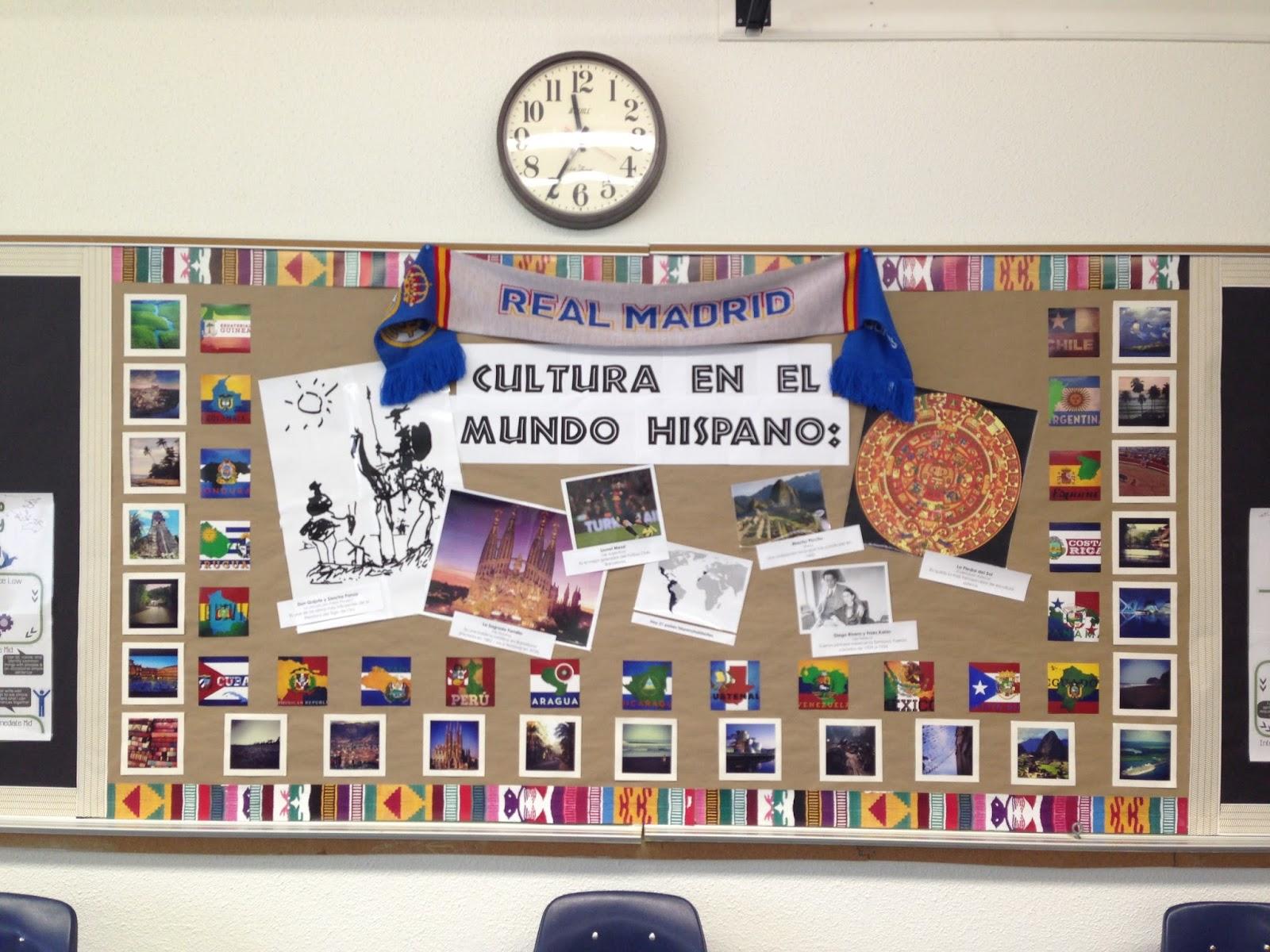 Spanish Classroom Decorations High School ~ Señora hahn s spanish class