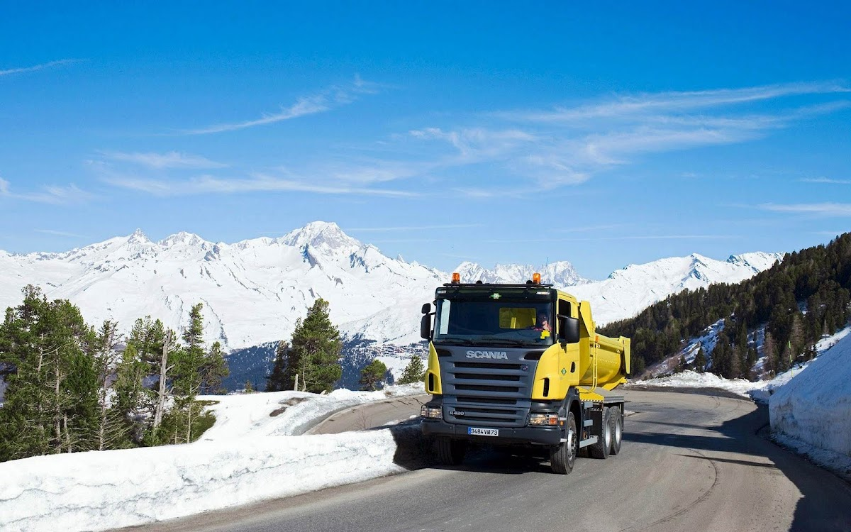 Amazing Truck Widescreen HD Wallpaper 14